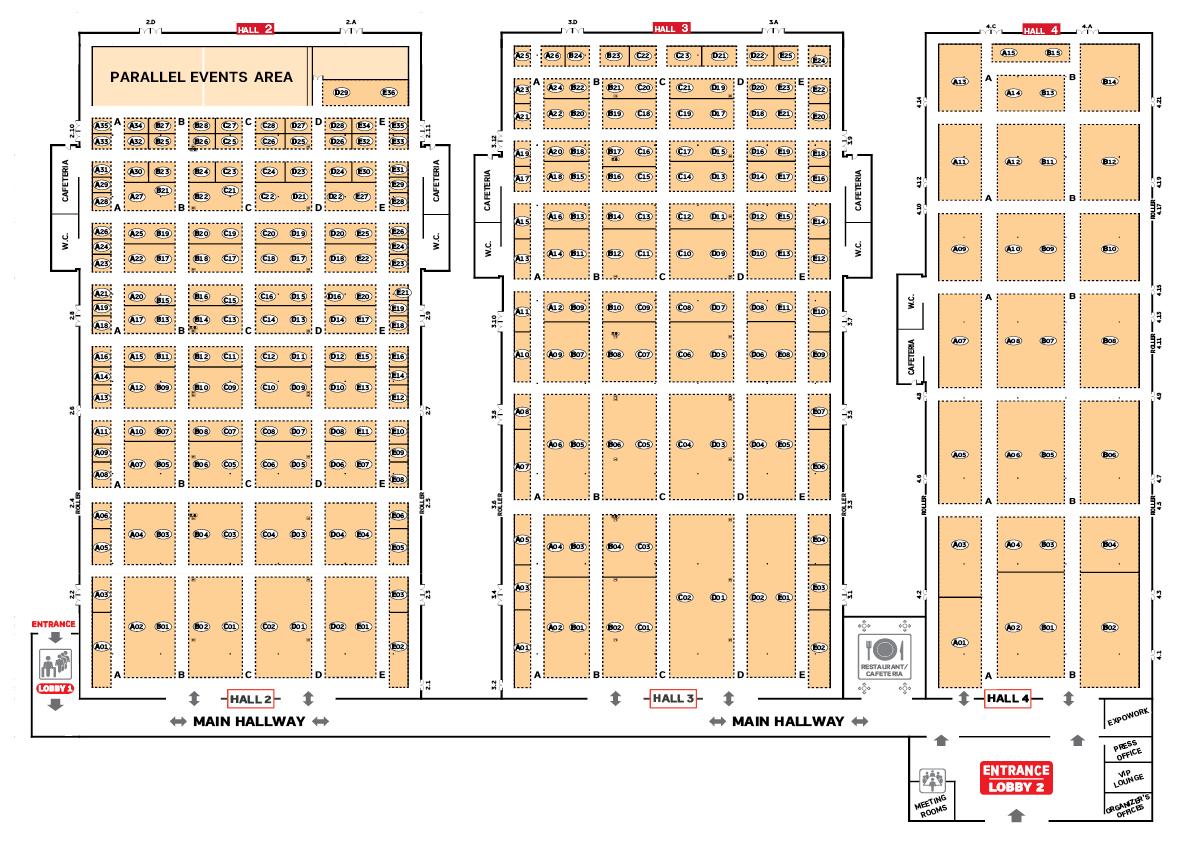ARTOZA 2021 Floorplan